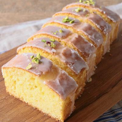 ホットケーキミックスで簡単レモンケーキ
