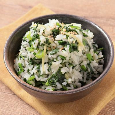 優しい味わい 大根の葉の菜飯