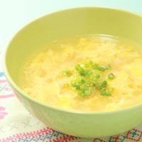 カニたまスープ