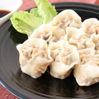 キムチで簡単 韓国風水餃子
