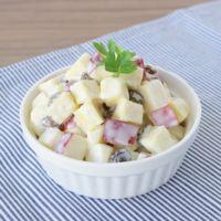 さつまいもとりんごのデリ風サラダ