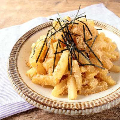 バター香る 大根の明太バター炒め