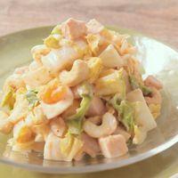 シャキシャキ白菜と卵のコブサラダ