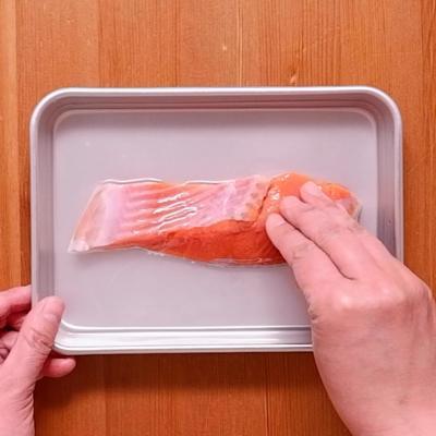 塩鮭の塩抜き方