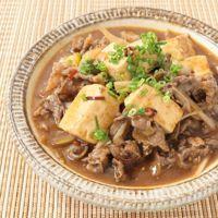 しびれる辛味 四川風肉豆腐