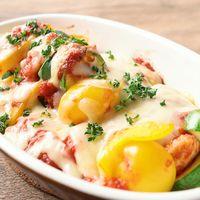 鶏ささみのイタリアン風チーズ焼き