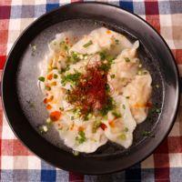 鶏ひき肉のヘルシースープ餃子
