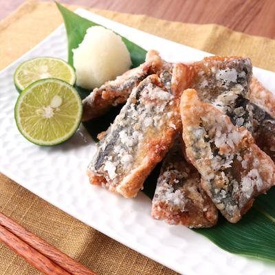 ふわっと上品な香り 秋刀魚の竜田揚げ