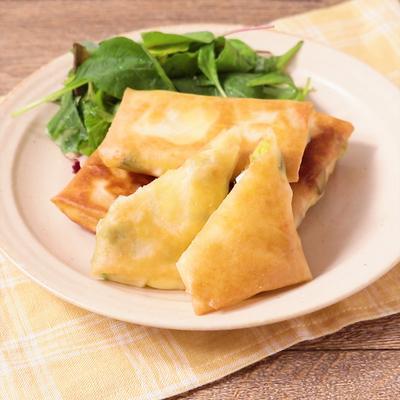 アボカドとクリームチーズの春巻き