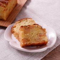 梨とジンジャーのパウンドケーキ