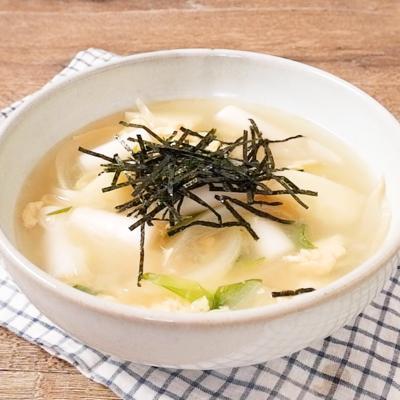 韓国雑煮 トックスープ