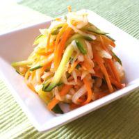 3色野菜の細切りオイキムチ