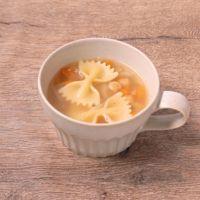レモン香る コンソメパスタスープ
