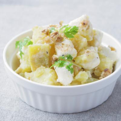 簡単 焼き芋とクリームチーズ和え