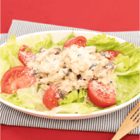 2種のきのこのマヨネーズ醤油サラダ
