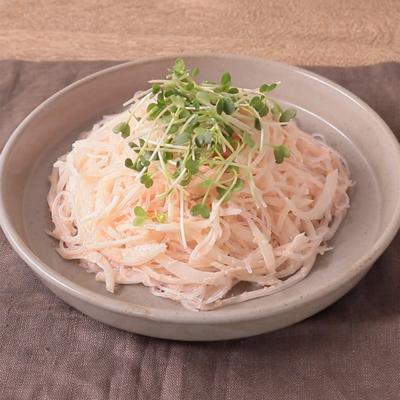 明太マヨの春雨サラダ