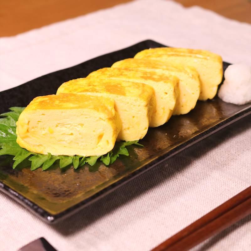 基本の和食 だし巻き卵 作り方・...