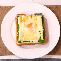 ズッキーニのたまトロトースト