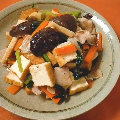 あっさり塩味 家常豆腐