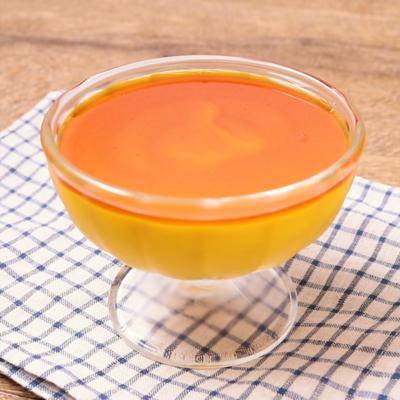 ゼラチンで簡単 かぼちゃプリン