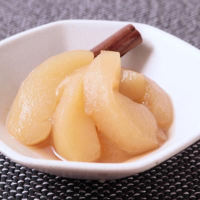 シナモン香るメープルりんごのコンポート