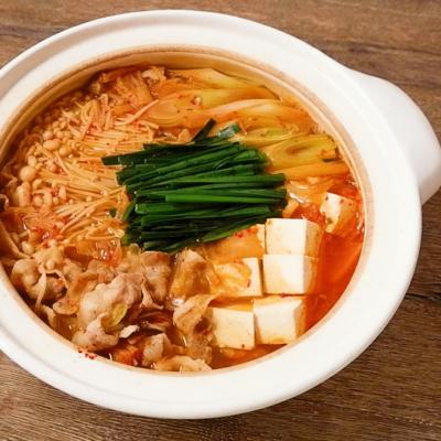 ピリ辛 キムチ鍋