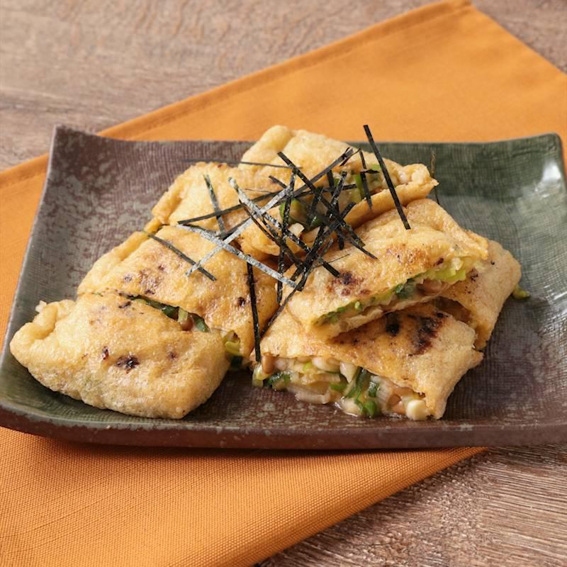 納豆 油揚げ レシピ