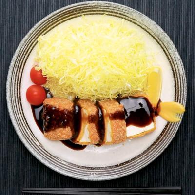 カレー風味の豆腐カツ