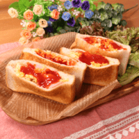 忙しい朝に!パッと簡単!食パンのポケットドック
