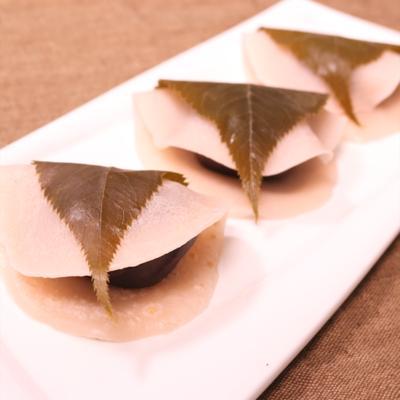 簡単おいしい手作り桜餅