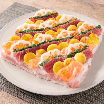 大人もひな祭り 豪華海鮮ちらし寿司