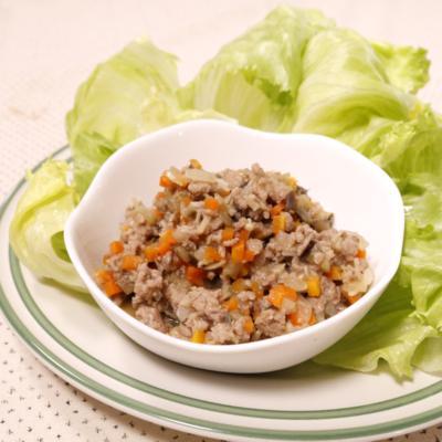 残り野菜で!肉味噌サラダ