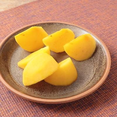 秋の味覚 柿のむき方