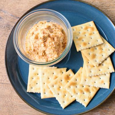 キムチとクリームチーズのディップ