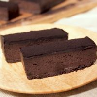 大人リッチな ブラック生チョコタルト
