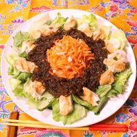 食感楽しい!沖縄チャンプルーサラダ