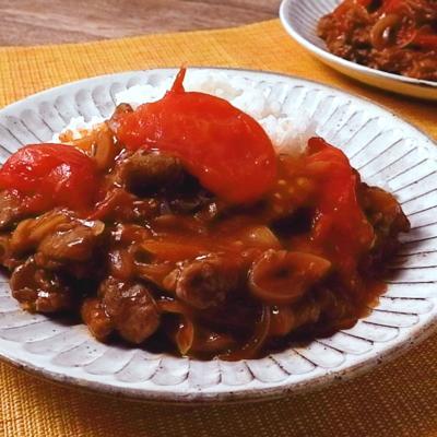 フレッシュトマトたっぷりのハヤシライス