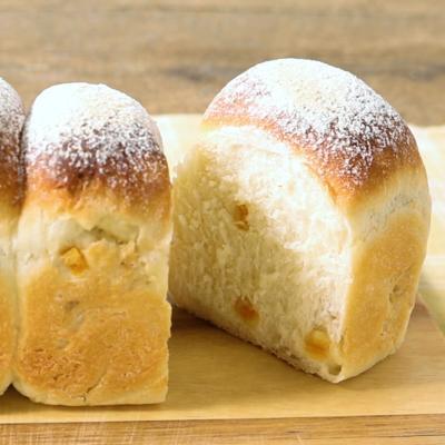 オレンジミニ食パン