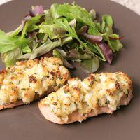 生鮭のカッテージチーズ焼き