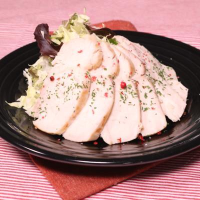 鶏むね肉のレモンマリネソテー
