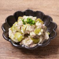 菊芋のツナマヨ和え 作り方・レシピ