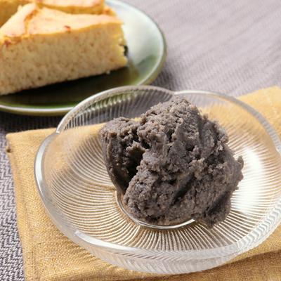 大豆で作る胡麻風味のあんこ