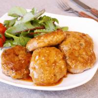 スイートチリで食べる!アジアンミニハンバーグ