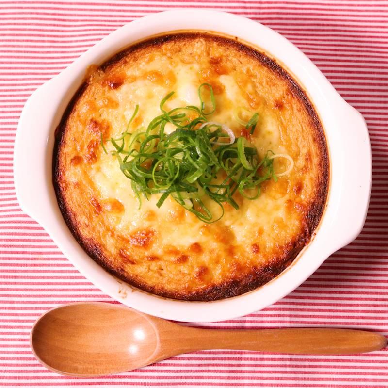 フワフワ山芋明太チーズ焼き