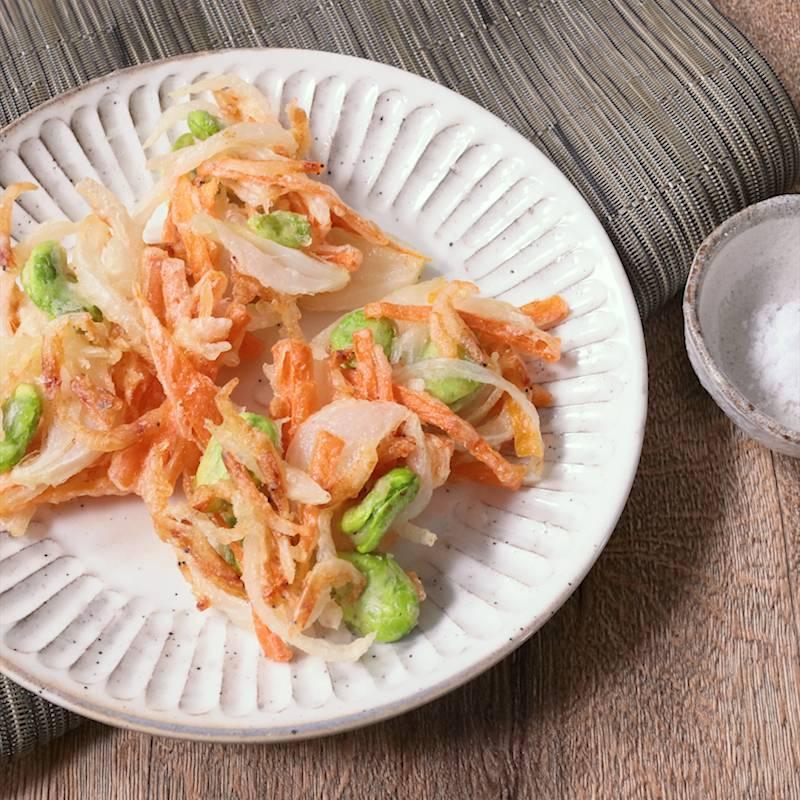 玉ねぎ かき揚げ レシピ 義母レシピ☺野菜かき揚げ by こはがえる