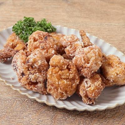 コクうまタレで鶏唐揚げ