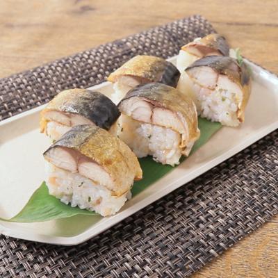 焼き塩さば寿司