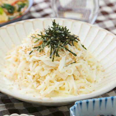ホタテと大根の真っ白サラダ