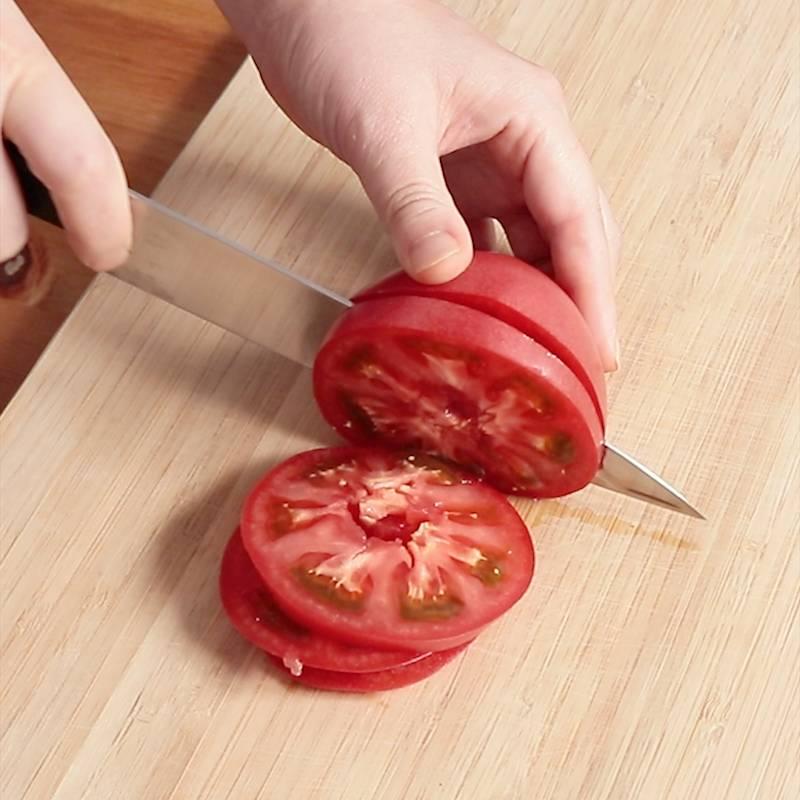 トマトの輪切り 作り方 レシピ クラシル