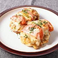 鶏とトマトのチーズ焼き